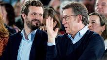 """Casado reivindica a sus candidatos Feijóo e Iturgaiz como dos """"referentes"""""""