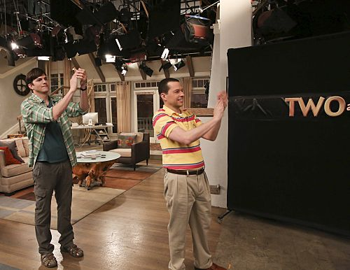Two and A Half Men 12x16 End Ending Series Finale Charlie