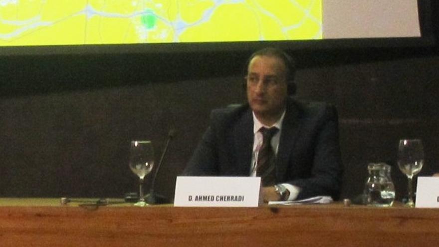 Ahmed Cherradi, delegado de Comercio e Industria de Agadir.