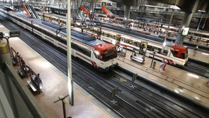 Huelga de transporte en Renfe