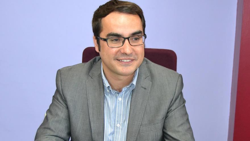 El concejal José Daniel Díaz, también presidente de NC en Tenerife