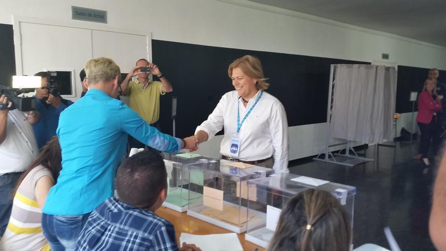 Noelia García Leal es candidata del PP a la Alcaldía de Los Llanos de Aridane.