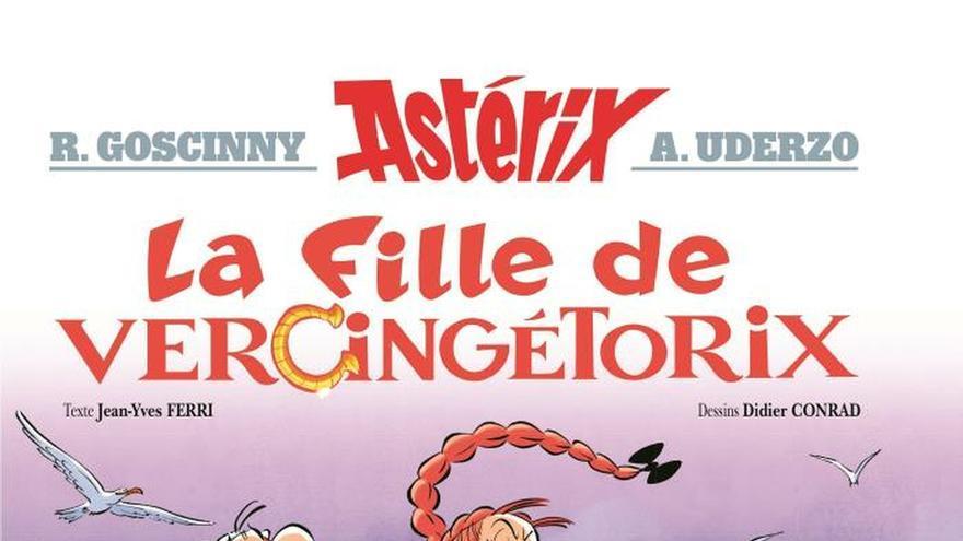 Una adolescente insumisa se cuela en el nuevo cómic de Astérix