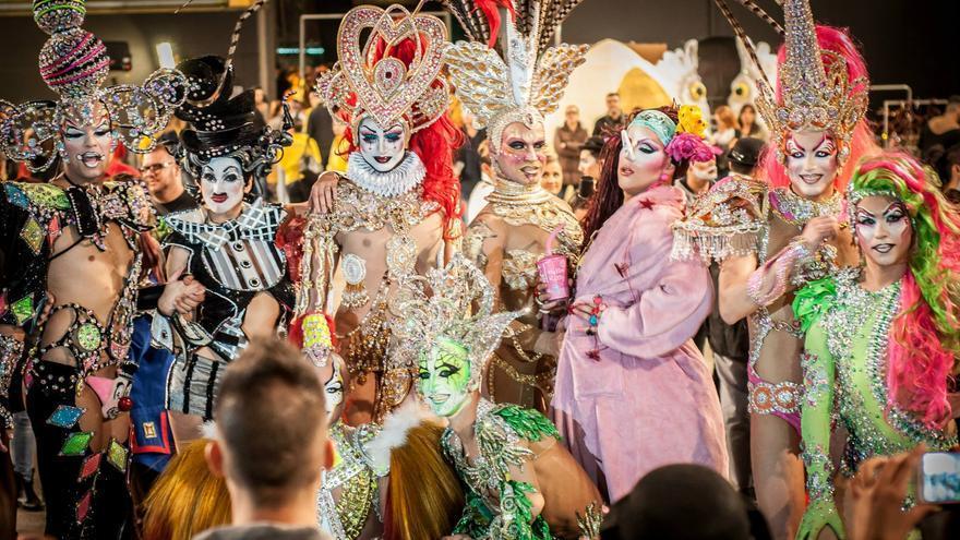 Resultado de imagen de La Gala Drag Queen de Las Palmas de Gran Canaria