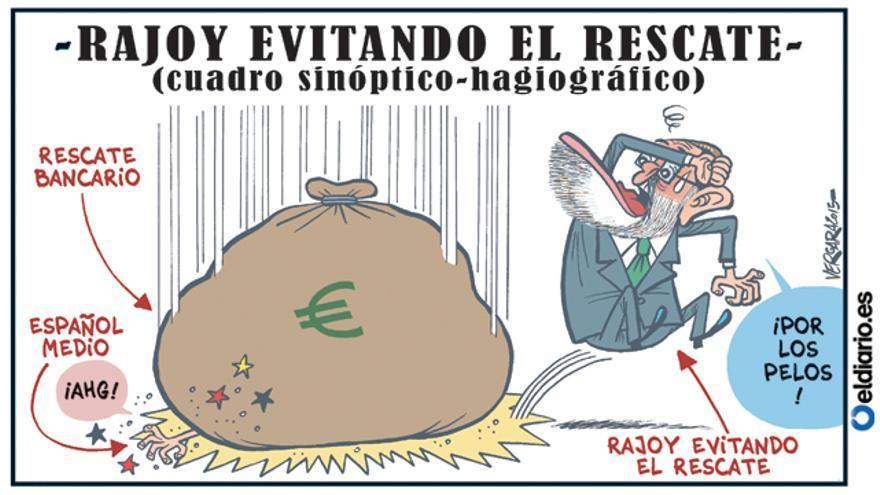 Rajoy evitando el rescate