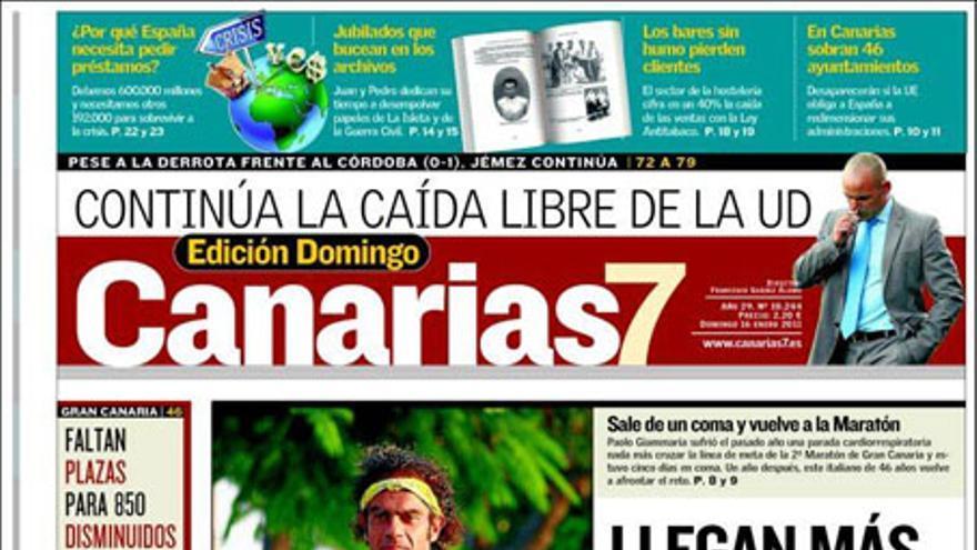 De las portadas del día (16/01/2011) #2