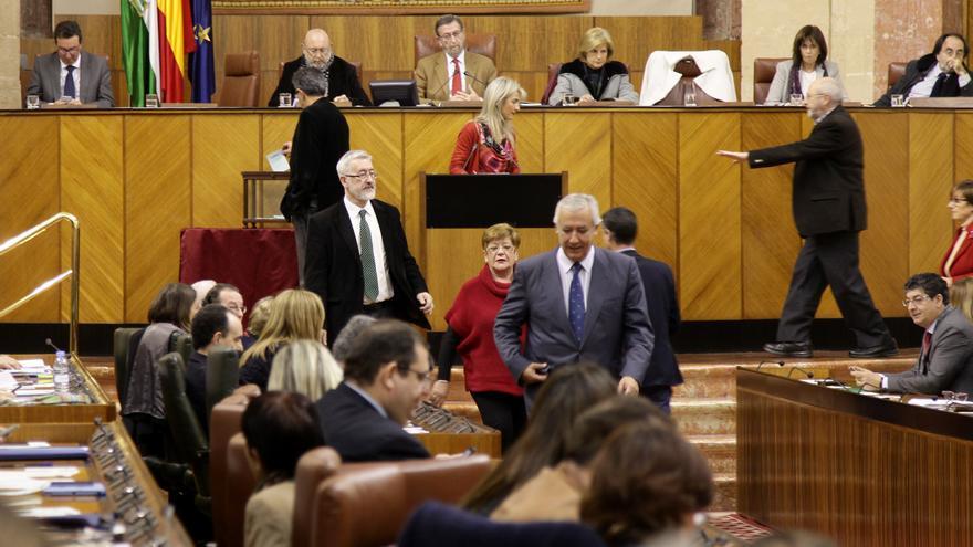 Pleno Parlamento de Andalucía enero 2015