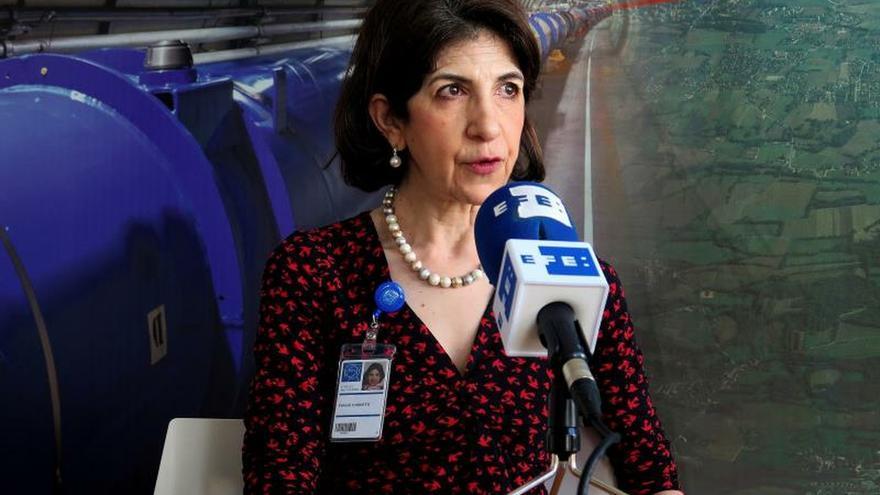 Fabiola Gianotti: Sería una pena que Europa pierda su preeminencia científica