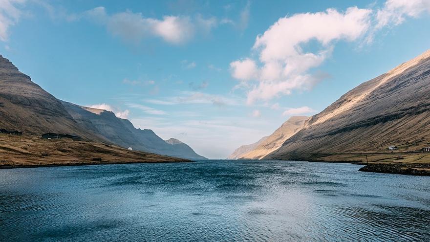 Paisaje de las islas Feroe.
