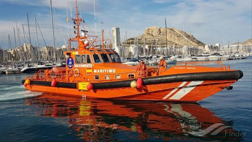 El barco de Salvamento Marítimo 'Salvamar Mirfak'.