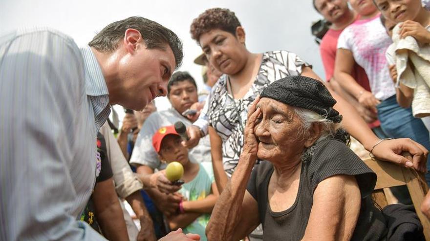 Peña Nieto anuncia ayudas para reconstruir viviendas afectadas por seísmo