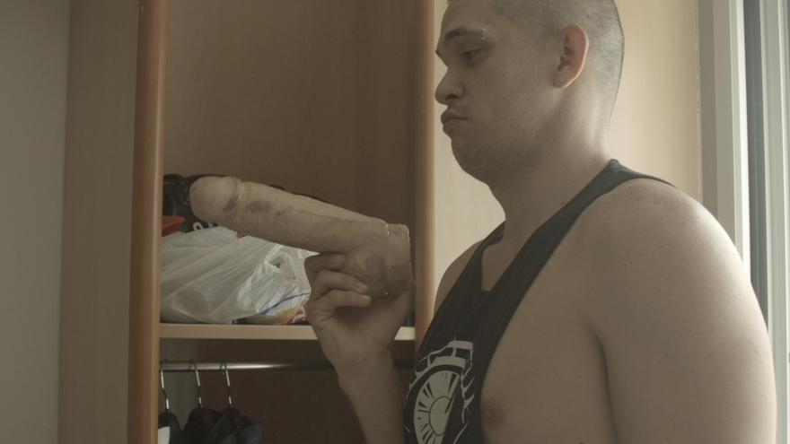 Fotograma de 'En vivo', del cineasta cordobés Antonio Hens.