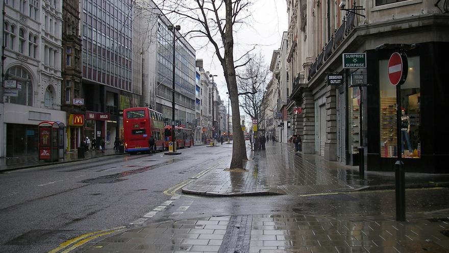 Una calle de Londres