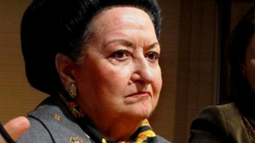 Montserrat Caballé criticó el anuncio de la Lotería... pero entre carcajadas