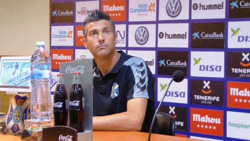 José Luis Martí, entrenador del CD Tenerife