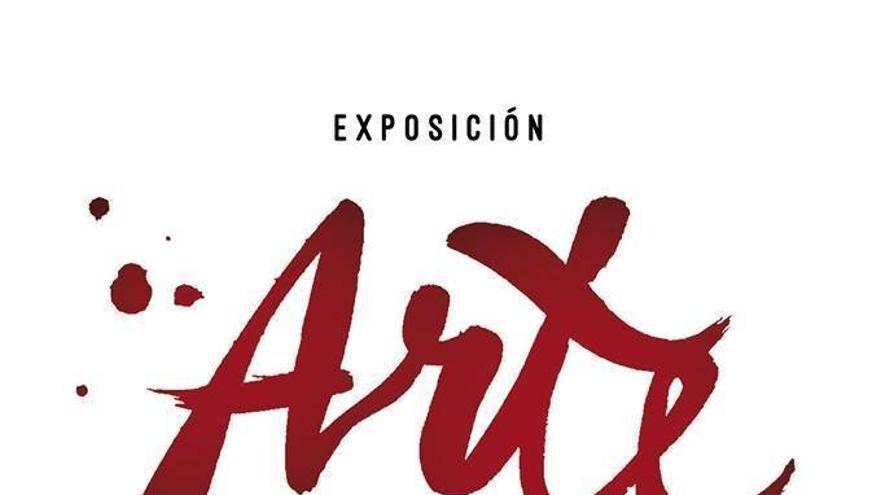 Cartel de la exposición solidaria.
