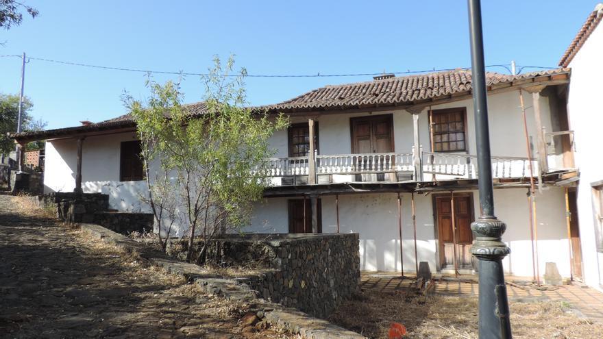 En la imagen, la casa que albergará el Centro de Visitantes de Buracas.
