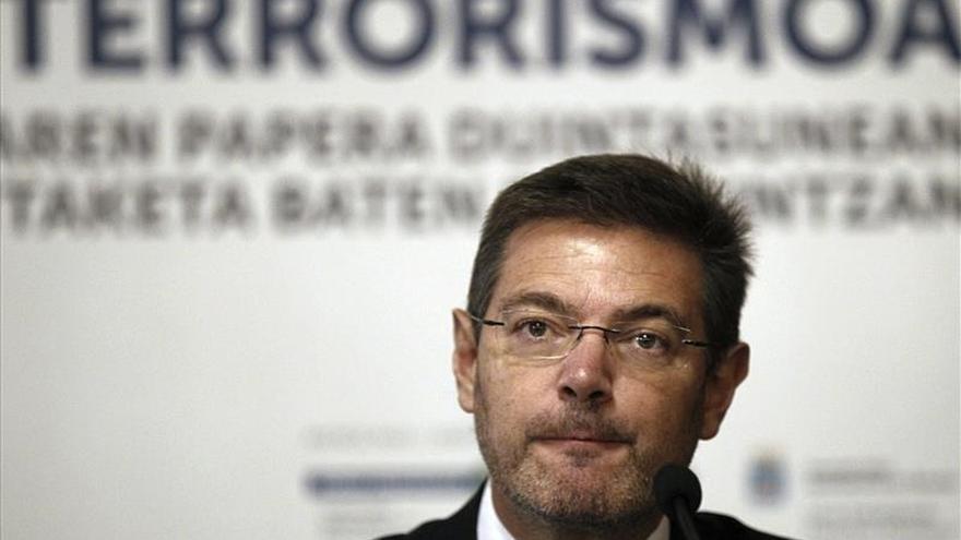 El ministro de Justicia, Rafael Catalá.