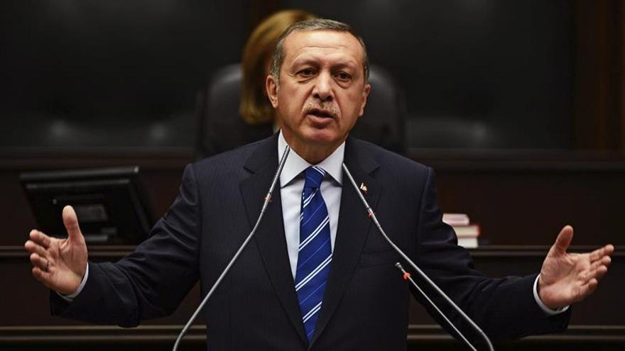 Imagen de archivo del primer ministro turco, Recep Tayyip Erdogan   EFE