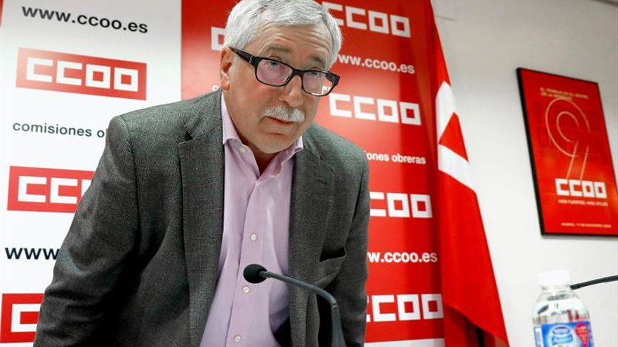 Toxo renuncia a optar a la reelección como secretario general de CCOO