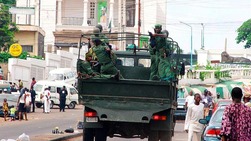 Mueren nueve soldados en el rescate de los investigadores secuestrados en Nigeria
