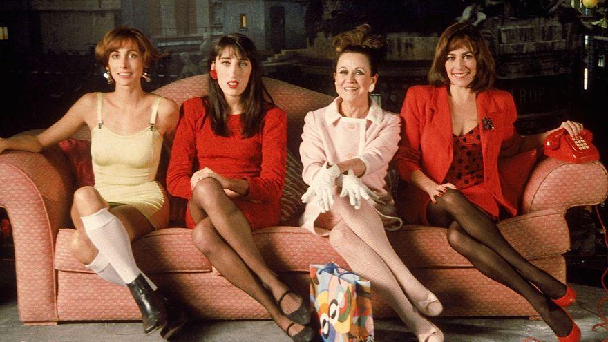Imagen de la película 'Mujeres al borde de un ataque de nervios'.