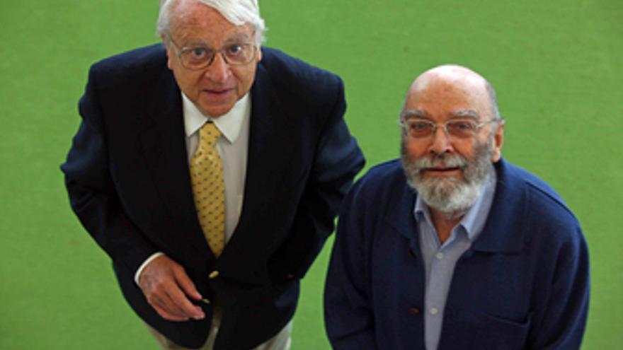 Los compositores Cristóbal Halffter y Luis De Pablo