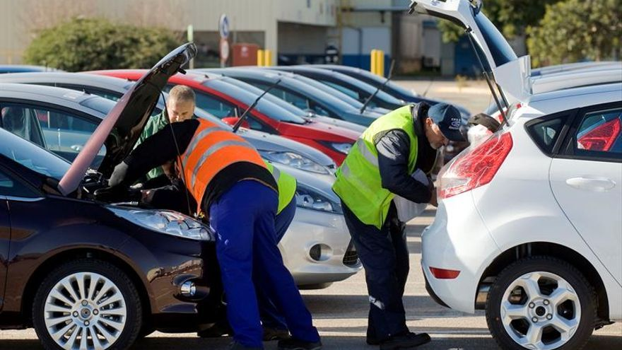La producción de vehículos en España crece un 1 por ciento en enero