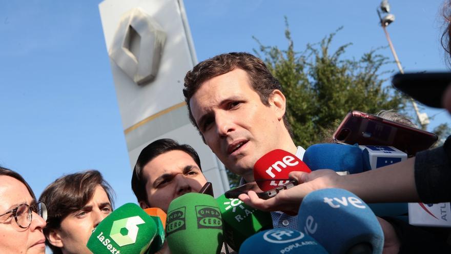"""Casado pide explicaciones a Sánchez porque con Calviño son """"cuatro miembros del Gobierno con sociedades instrumentales"""""""