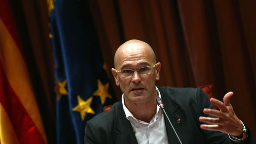 Romeva remarca que el Govern quiere proclamar la secesión en un máximo de 18 meses