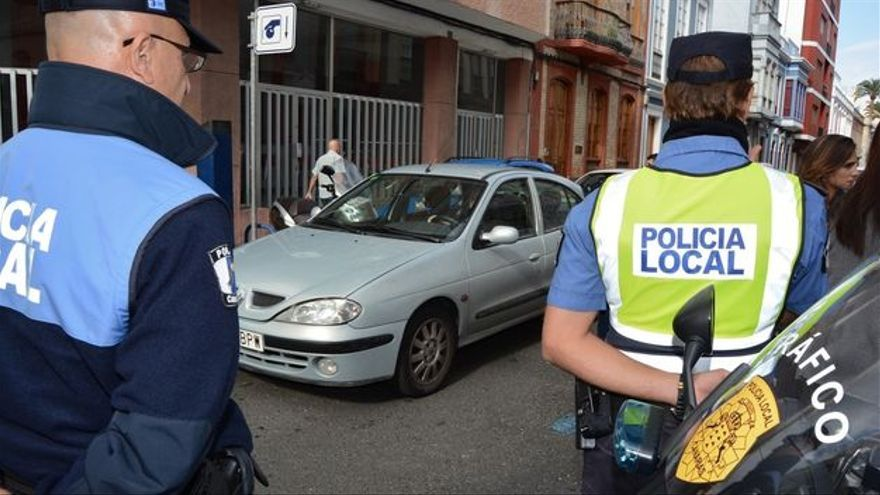 Policía Local de Las Palmas de Gran Canaria. (EUROPA PRESS)