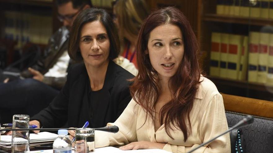La vicepresidenta del Gobierno canario Patricia Hernández