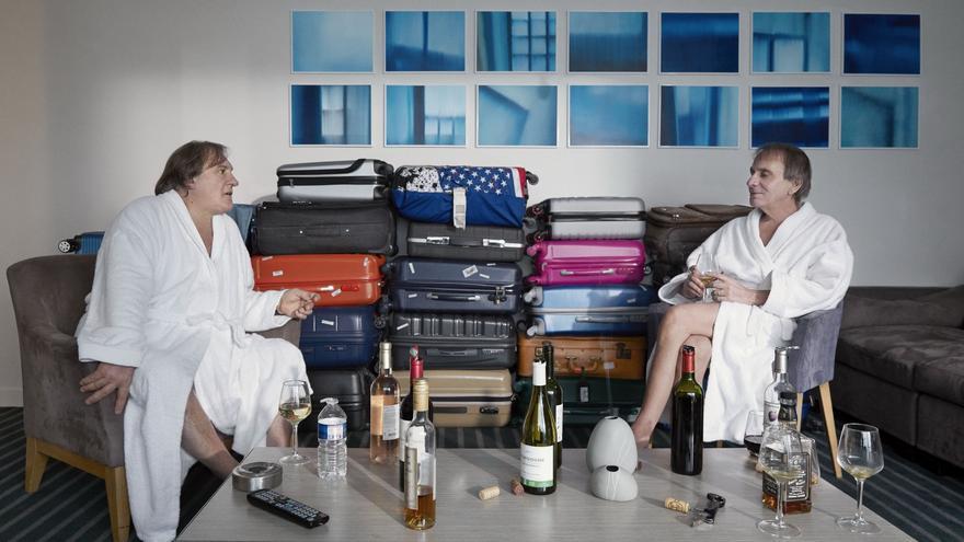 Michel Houllebecq eta Gérard Depardieu Guillaume Nicloux idatzitako 'Thalasso' pelikularen protagonistak dira