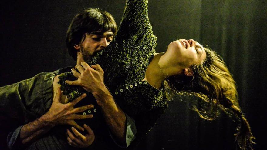 Espectáculo 'Nostos' de 'En la cuerda floja'.