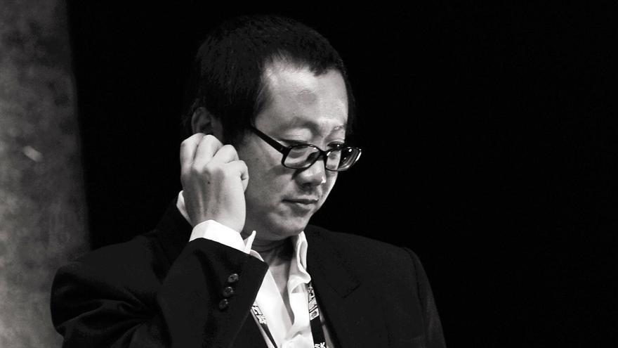 El escritor chino, Cixin Liu, en una imagen de archivo.