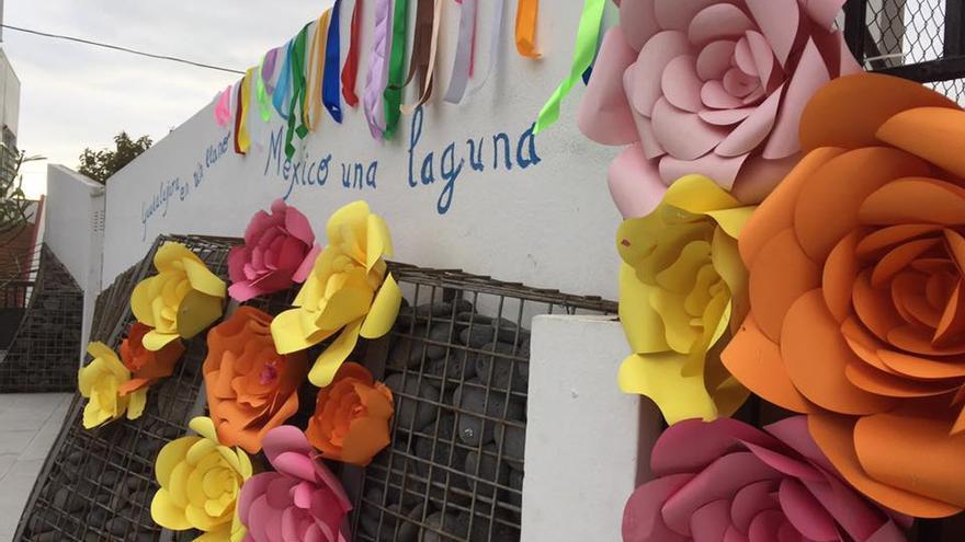 Imagen de archivo del Día de México en La Laguna (Los Llanos de Aridane).