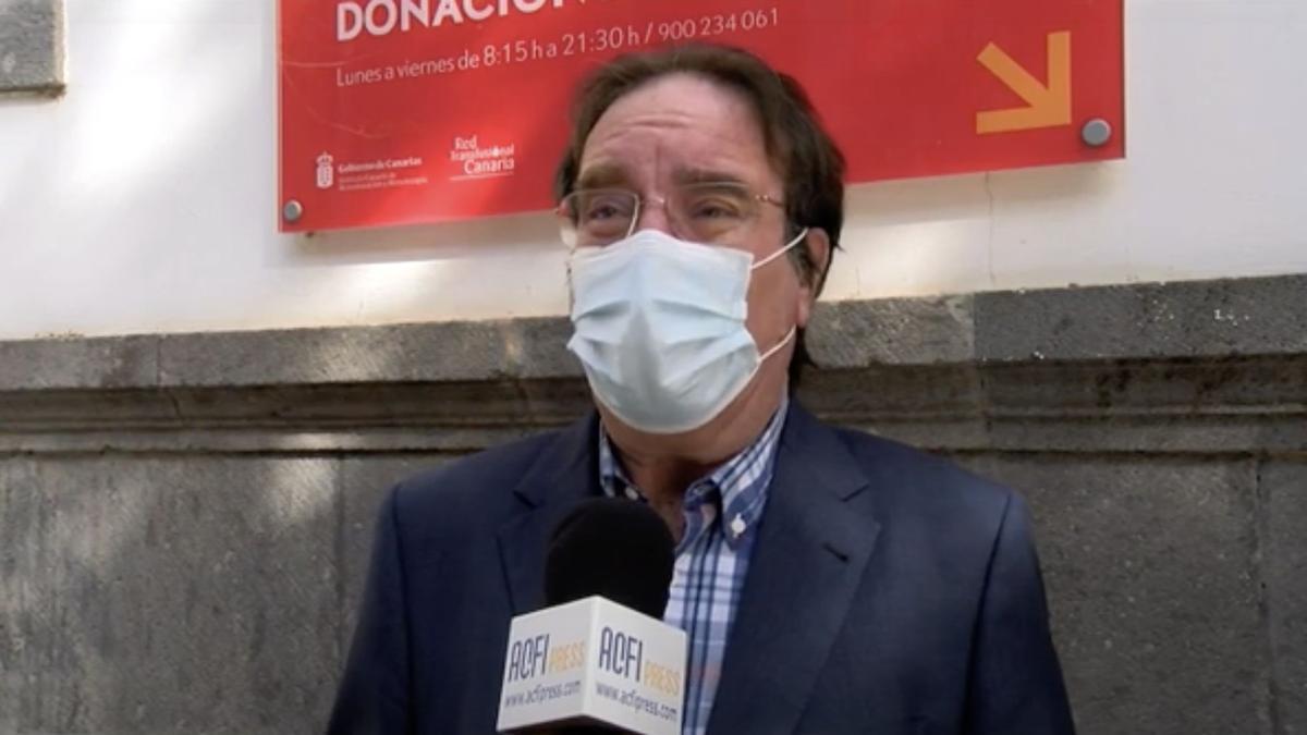 El jefe de la Sección de Epidemiologia de la Dirección General de Salud Pública del Gobierno de Canarias y presidente de la Sociedad Española de Vacunología, Amós García Rojas