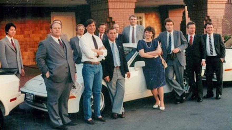 Steve Jobs amaba los Porsche y le encantaban los coches alemanes.