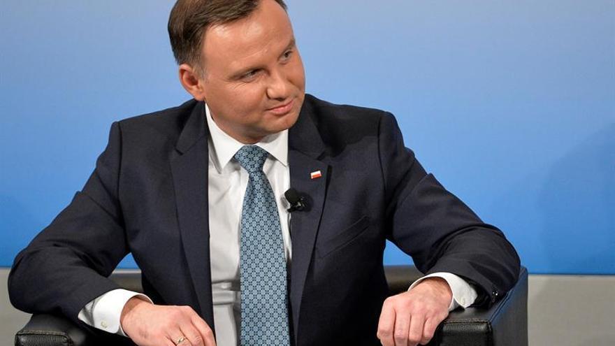 El presidente de Polonia inicia visita oficial a México