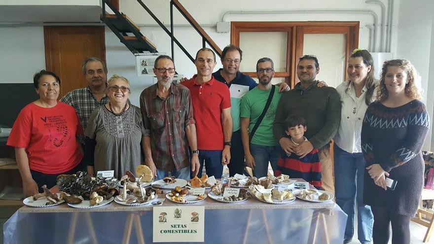 El Mercadillo del Agricultor acogió este domingo una muestra de setas. Foto: AYUNTAMIENTO VILLA DE MAZO