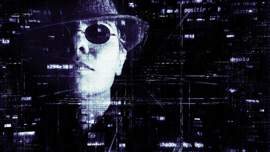 Una de las creaciones de Pete Linforth, que se encuentra en Pixabay al buscar imágenes de 'hackers' (Imagen: Pixabay)