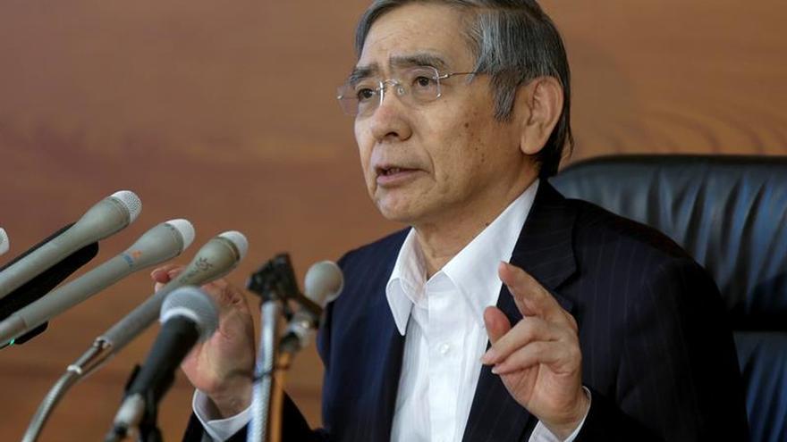 El Banco de Japón retrasa su meta de inflación hasta después de 2018