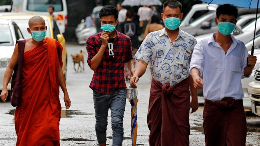 Suben a diez los muertos por un brote de gripe porcina en Birmania