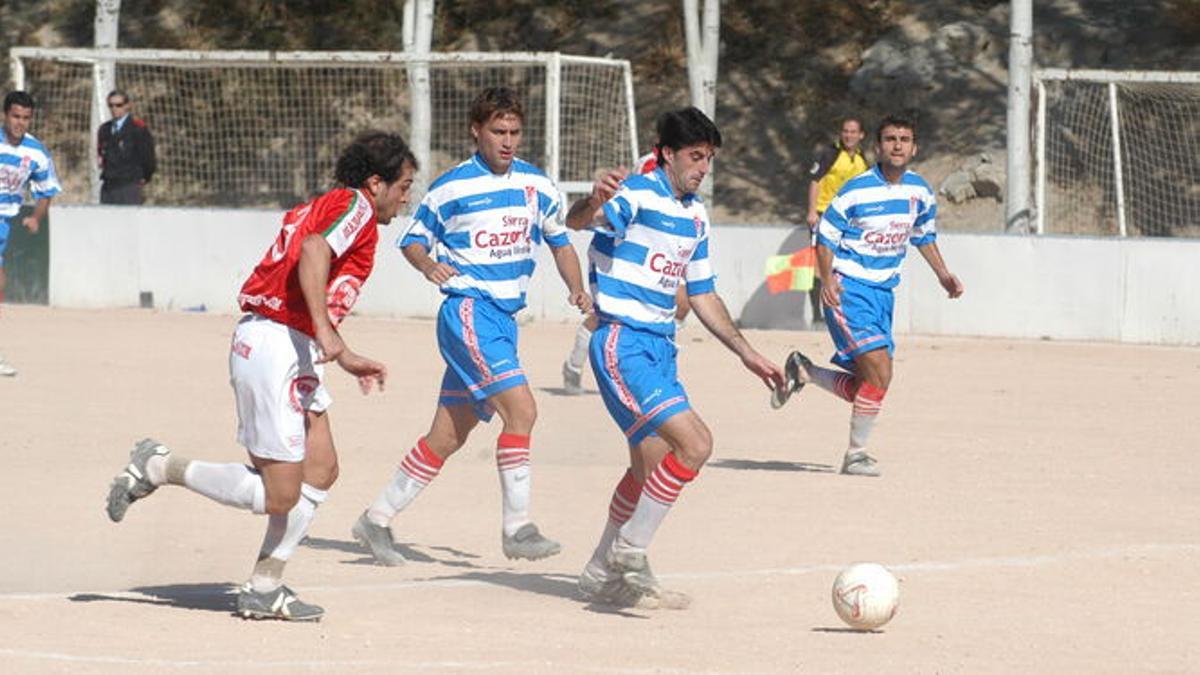 Granada CF-Granada 74 del Grupo IX de Tercera División del año 2004