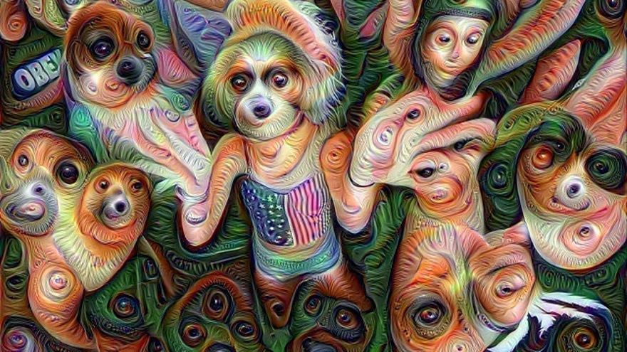 Los algoritmos de reconocimiento de imágenes también pueden proporcionar resultados imprevisibles como este