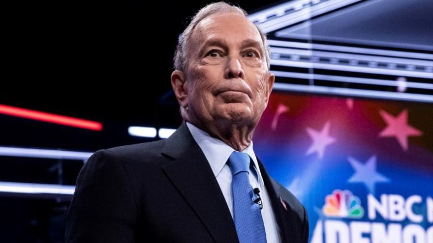 Michael Bloomberg, exalcalde de Nueva York y candidato a las primarias del Partido Demócrata
