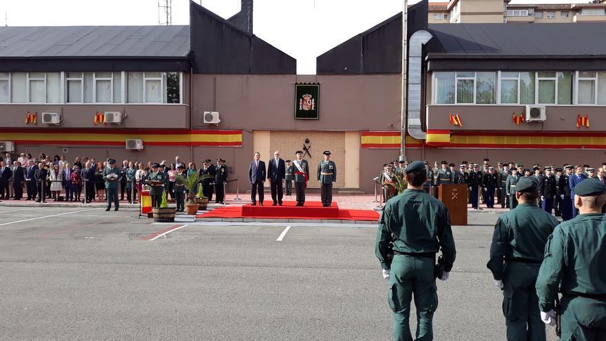 Loza reitera que el Gobierno del PSOE mantendrá el despliegue de la Guardia Civil en Euskadi