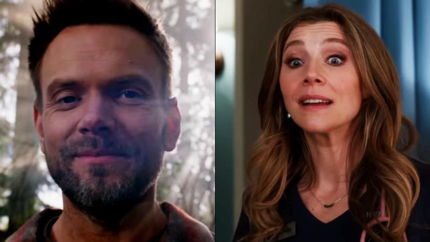 Revelados los personajes de Joel McHale y Sarah Chalke en la secuela de 'Psych'
