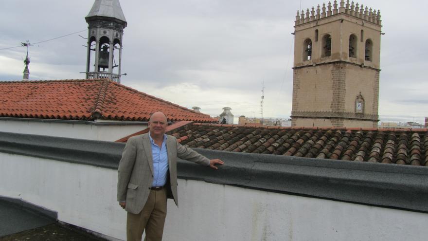 Celestino Vegas, candidato a las primarias municipales del PSOE en Badajoz
