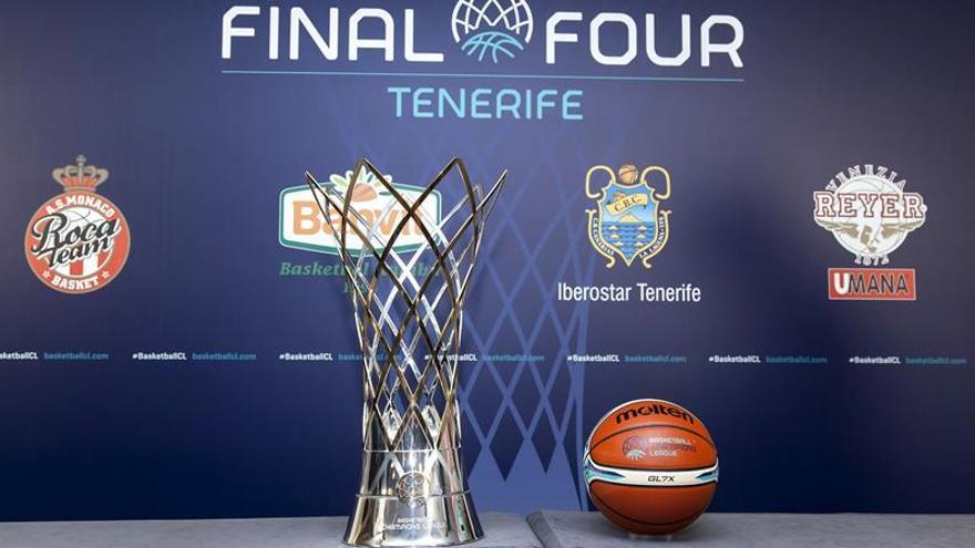 La copa de la FIBA Champios en Tenerife los días 28 y 30 de abril. EFE/Ramón de la Rocha